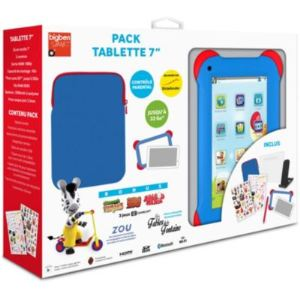 "Bigben Interactive Kids Tablet 4 Go - Pack Tablette 7"" sous Android 4.4 avec accessoires"