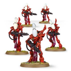 Games Workshop Warhammer 40,000 - Gardes : Guerriers Fantômes Eldars