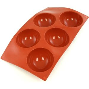Paderno Moule flexible Flexipad en silicone 5 demi-sphères