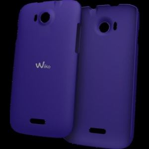 Wiko WIKOPEAXCUSBL - Coque arrière Ultra Slim pour Wiko Cink Peax