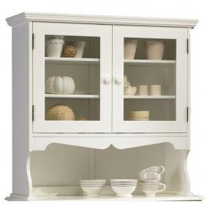 haut de vaisselier blanc comparer 384 offres. Black Bedroom Furniture Sets. Home Design Ideas