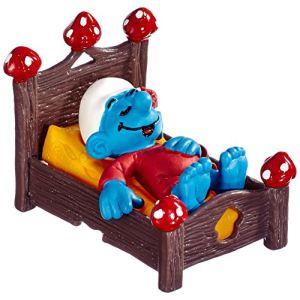 Schleich 40240 - Figurine Schtroumpf au lit