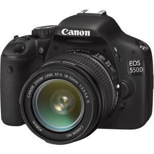 Canon EOS 550D (avec objectif 18-55mm)