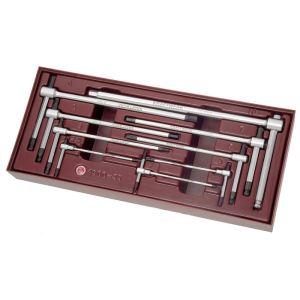 Kraftwerk 4900-35B - Coquille Completo de 9 clés mâles 6 pans en T