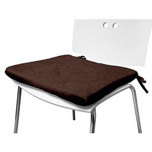 housse de chaise chocolat comparer 28 offres. Black Bedroom Furniture Sets. Home Design Ideas