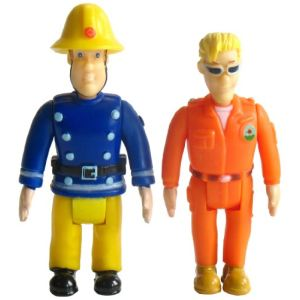 Ouaps Sam le pompier : pack de 2 figurines (modèle aléatoire)