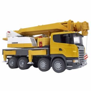 Bruder Toys 3570 - Camion Scania avec grue Liebherr