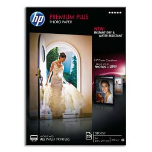 HP CR672A - Papier photo premium plus brillant (A4)