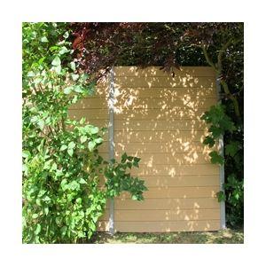 McCover Lame de clôture en bois composite - 1480 x 156 x 19 mm