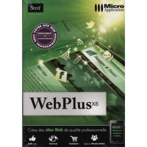WebPlus X6 pour Windows