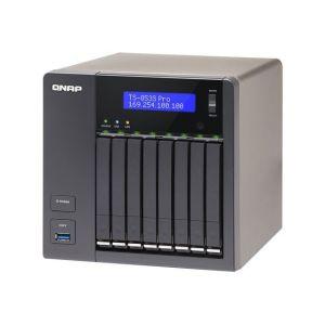 "Qnap TS-853S Pro - Serveur NAS 8 baies 2.5"" Ethernet x4"
