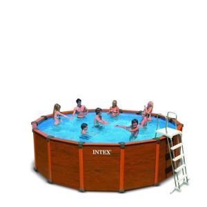 Piscine intex sequoia spirit comparer 5 offres for Piscine hors sol sequoia spirit intex