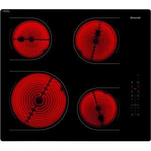 Brandt TV1512B - Table de cuisson vitrocéramique 4 foyers