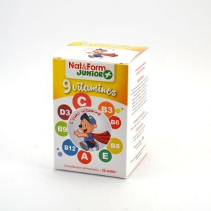 Nat & Form Kid'Ours + 9 vitamines