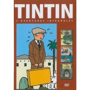 Coffret Tintin - Volume 2 - L'Ile Noire + L'Oreille Cassée + Le Sceptre d'Ottokar