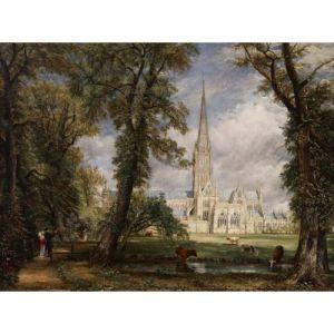 Grafika Puzzle John Constable : La Cathédrale de Salisbury, 1825 2000 pièces