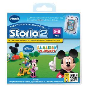 Vtech Jeu tablette Storio 2 : La Maison De Mickey