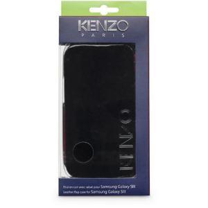 Kenzo KENZOGLOSSYCOXG - Étui glossy à rabat pour Galaxy S3
