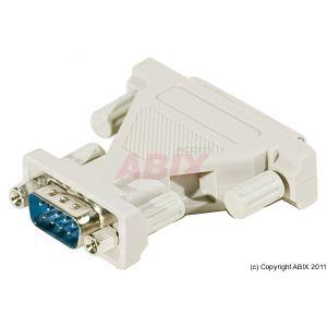 085350 - Adaptateur DB9 (M) vers DB25 (F)