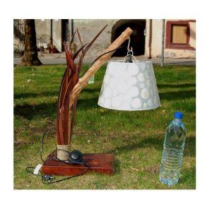 Millumine Lampe blanche de Nacre