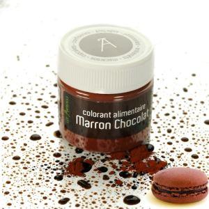 Les Artistes Paris Colorant alimentaire en poudre marron chocolat (10g)