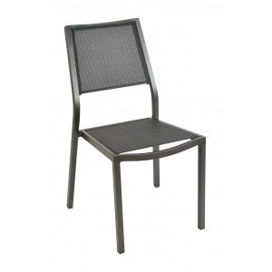 Proloisirs 2 chaises de jardin Florence en aluminium et textilène