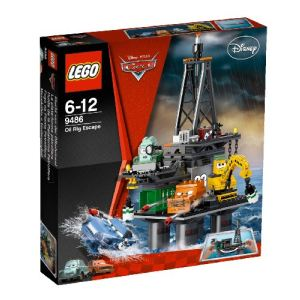 Lego 9486 - Cars : Oil Rig Escape