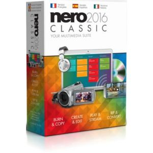 Nero 2016 classic pour Windows
