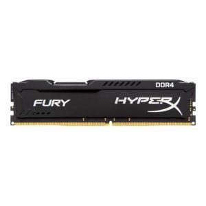 Kingston HX426C15FB/4 - Barrette mémoire HyperX Fury Noir 4 Go DDR4 2666 MHz CL15