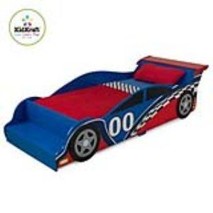 KidKraft 76038 - Lit voiture de course pour touts-petits