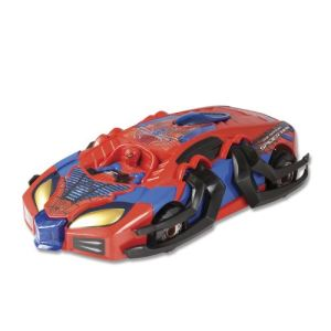 Silverlit Voiture radiocommandé Transforming Racer Spider-Man Amazing