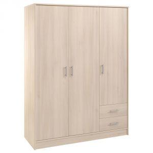 Swithome Infiny - Armoire 3 portes et 2 tiroirs