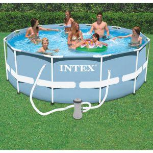 Intex 28726 - Piscine tubulaire ronde 3,66 x 1,22 m