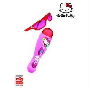 Microphone + lunettes Hello Kitty