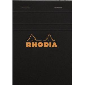Rhodia Cahier bloc-notes Agrafés 80 feuilles (105x148 cm)
