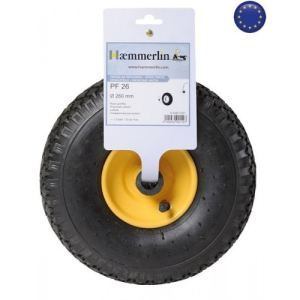 Haemmerlin 309011901 - Roue de diable PF 26 Ø 260 mm
