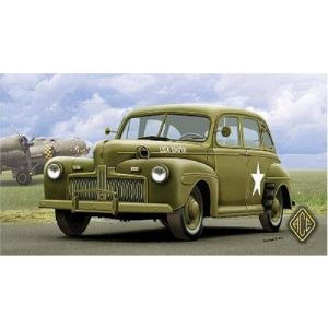 ACE 72298 - Maquette Ford Fordor US ARMY Staff Car Model 1942 - Echelle 1:72