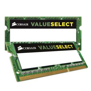 Corsair CMSO16GX3M2C1600C11 - Barrettes mémoire Value Select 2 x 8 Go DDR3L 1600 MHz CL11 SoDimm