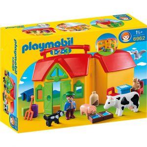 Playmobil 6962 - Ferme transportable 1.2.3.
