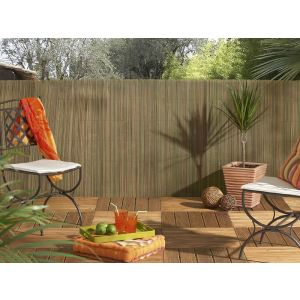 Intermas Gardening 170993 - Brise vue Exel Reed en tiges de roseau synthétique 3 x 1,5 m