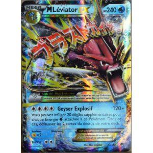 Asmodée Méga Léviator Ex - Carte Pokémon XY Rupture Turbo