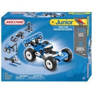 Meccano 6026702 - Junior : Bolide de course 5 modèles