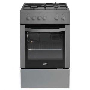 Beko CSS53000DS - Cuisinière mixte 4 foyers gaz avec four électrique