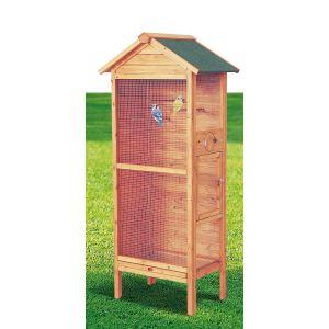 Habrita PO H775 - Cage à oiseaux standard 3-4 oiseaux 0,42 m²,