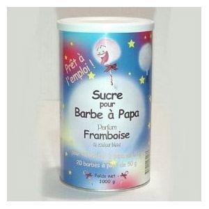 Lagrange 380003 - Sucre pour barbe à papa saveur framboise (1 kg)