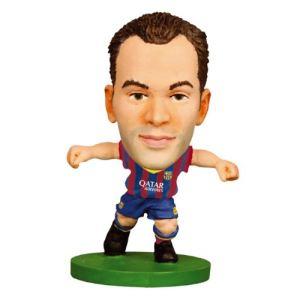 Figurine de joueur FC Barcelone Barça Iniesta 5 cm