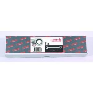 Mob 9002009001 - 9 clés mixtes à cliquet en boite