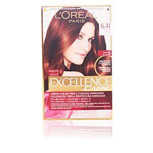 L'Oréal Excellence 6.41 Noisette - Crème colorante triple protection