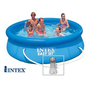 Intex 58980fr piscine hors sol tubulaire rectangulaire for Piscine hors sol intex ronde