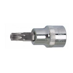 """KS Tools 918.1470-e - Douille tournevis 1/4"""" Torx percé T10 L. 37 mm sur support"""